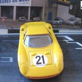 FERRARI 250 LM 250LM VOITURE MINIATURE HOT WHEELS MODELE REDUIT 1/64 - car-collector