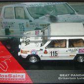 FASCICULE N°20 FIAT PANDA 45 RALLYE CARLOS SAINZ CRITERIUM LUIS DE BAVIERA 1981 - car-collector.net