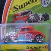 1933 FORD COUPE SUPERFAST MATCHBOX LIMITED EDITION - car-collector