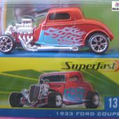 1933 FORD COUPE SUPERFAST MATCHBOX LIMITED EDITION - car-collector.net
