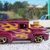 56 FORD F-100 HOT WHEELS 1/64 56 FORD F100 56 FORD TRUCK - car-collector