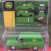 FORD F-100 PANEL DELIVERY 1955 F100 JOHN DEERE JOHNNY LIGHTNING - car-collector
