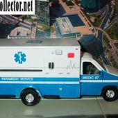 FORD F350 XL 1/36 TINS TOYS PARAMEDIC SERVICE &amp&#x3B; LOS ANGELES FIRE 911 - car-collector.net
