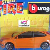 FORD FOCUS ST ORANGE BURAGO 1/43 - car-collector.net
