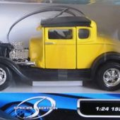 VIDEO FORD MODEL A 1929 CUSTOM MAISTO 1/24 SPECIAL EDITION - CATEGORIE FORD - car-collector