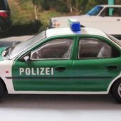 FORD MONDEO POLIZEI 1/43 MINICHAMPS - POLICE ALLEMAGNE - car-collector.net