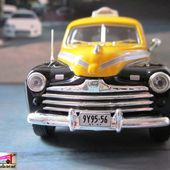 FASCICULE N°2 FORD FORDOR SEDAN TAXI NEW YORK 1947 IXO 1/43 - car-collector.net