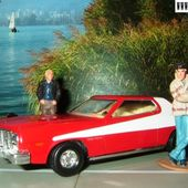 FORD GRAN TORINO 1976 CORGI 1/36 STARSKY ET HUTCH SERIE TV FEUILLETON - car-collector.net