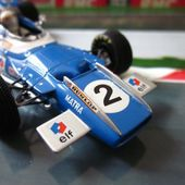 MATRA MS 80 JACKIE STEWART GRAND PRIX DE FRANCE 1969 QUARTZO 1/43 - car-collector.net