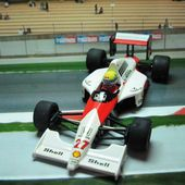 FORMULE 1 F1 MC LAREN HONDA AYRTON SENNA ONYX 1/43 - car-collector