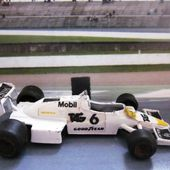 F1 WILLIAMS FW 08 C POLISTIL 1/55 - WILLIAMS FW08C - car-collector