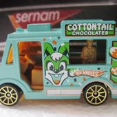 ICE CREAM TRUCK GOOD HUMOR SWEET STREETS TROPICOOL HOT WHEELS 1/64 - car-collector