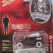 HUMMER H1 2001 FRANKENSTEIN JOHNNY LIGHTNING 1/64 - car-collector.net