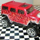HUMMER H2 4X4 TOUT TERRAIN HOT WHEELS 1/64 - car-collector