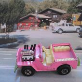 JEEP HOT ROD ROSE BONBON MATCHBOX 1/68 - car-collector.net