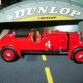 FASCICULE N°47 LAGONDA M45 RAPIDE ROUGE 1935 LES 24 HEURES DU MANS J. HINDMARSH L. FONTES - car-collector