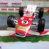 LOTUS F1 3000 CM3 MOTEUR FORD COSWORTH GP MONACO GRAHAM HILL - car-collector.net