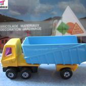 ARTICULATED TRUCK CAMION MATCHBOX CAMION BENNE CHANTIER - car-collector.net