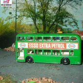 DAIMLER BUS ESSO EXTRA PETROL MATCHBOX SERIES N°74 LESNEY - car-collector