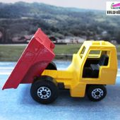 SITE DUMPER MATCHBOX ENGIN DE CHANTIER TRAVAUX PUBLICS - car-collector.net