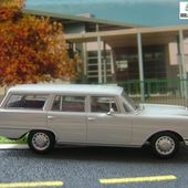 mercedes 230s break 1967 grise
