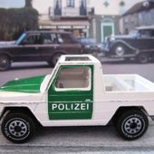 MERCEDES 280 GE POLICE SIKU - car-collector.net