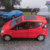 MERCEDES A160 PEINTURE ROUGE SCHUCO 1/43 - car-collector.net