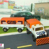 CAMION MERCEDES UNIMOG AVEC SA REMORQUE MATCHBOX 1/76 - car-collector.net