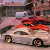MERCEDES CLK - LM HOT WHEELS 1/64 VOITURE MINIATURE COLLECTION CAR-COLLECTOR - car-collector
