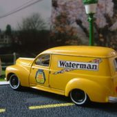 PEUGEOT 203 COMMERCIALE ENCRE WATERMAN SOLIDO 1/43 - car-collector.net