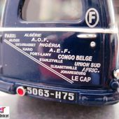 FASCICULE N°41 PEUGEOT 203 COMMERCIALE 1951 PARIS LE CAP MERCIER CH. DE CORTANZE - car-collector.net