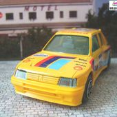 PEUGEOT 205 TURBO 16 SAFARI RALLY BURAGO 1/43 VATANEN - GIROUX - car-collector.net