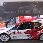 FASCICULE N°127 PEUGEOT 207 S2000 MONTE CARLO 2009 - FREDDY LOIX SVEN SMEETS - car-collector.net
