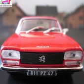 FASCICULE N°51 PEUGEOT 304 BERLINE 1979 NOREV 1/43 - car-collector.net