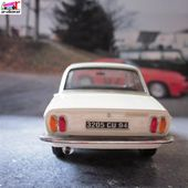 PEUGEOT 304 BERLINE BLANCHE PROVENCE MOULAGE 1/43 - car-collector.net
