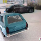 PEUGEOT 504 BREAK DANGEL 4X4 1974 EDF GDF VEREM 1/43 - car-collector.net