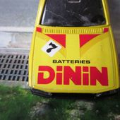 PEUGEOT 505 STI JET CAR NOREV 1/43 BATTERIES DININ - car-collector.net