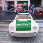 PORSCHE 911 TURBO POLICE SIKU 1/55 POLIZEI - POLICE ALLEMANDE - car-collector.net