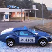 RENAULT ALPINE A310 1/55 MAJORETTE A310 POLICE A310 SOS DOCTOR - car-collector.net