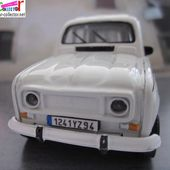 RENAULT 4 GTL R4 GTL SAVANE 1/43 BURAGO MINIATURE CAR-COLLECTOR - car-collector.net