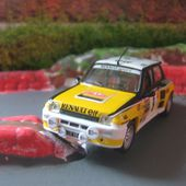 FASCICULE N°54 RENAULT 5 R5 TURBO 1981 MONTE CARLO IXO 1/43 J. RAGNOTTI ET J.M ANDRIE - car-collector.net