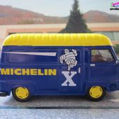 FASCICULE N°9 RENAULT ESTAFETTE PNEU X LES VEHICULES MICHELIN IXO 1/43 - car-collector.net