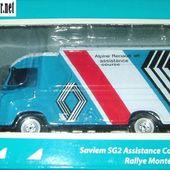 RENAULT SAVIEM SG2 ASSISTANCE COURSE RALLYE MONTE CARLO 1973 IXO 1/43 - car-collector.net