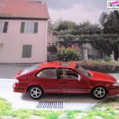 SAAB 9.3 HERPA 1/72 VOITURE MINIATURE BLOG CARCOLLECTOR - car-collector