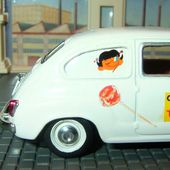 SEAT 600D 1966 SUCETTES CHUPA CHUPS SOLIDO 1/43 - car-collector.net