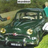 FASCICULE N°25 DIORAMA SIMCA ARONDE - L' ACCROCHAGE - MACON / LYON RN7 LA ROUTE BLEUE - car-collector.net