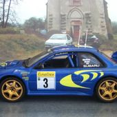 FASCICULE N°79 SUBARU IMPREZA WRC 1998 RALLYE MONTE CARLO - COLIN MC RAE NICKY GRIST - car-collector.net