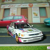 FASCICULE N°34 SUBARU LEGACY RS RALLYE PORTUGAL 1991 CHATRIOT / PERIN IXO 1/43 - car-collector.net