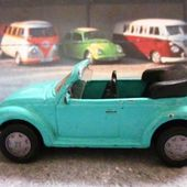 VW COX 1303 LS CABRIOLET SIKU 1/55 - car-collector.net