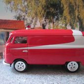 65 VW COMBI STARSKY ET HUTCH JOHNNY LIGHTNING 1/64 - VOLKSWAGEN BUS 1965 - car-collector.net